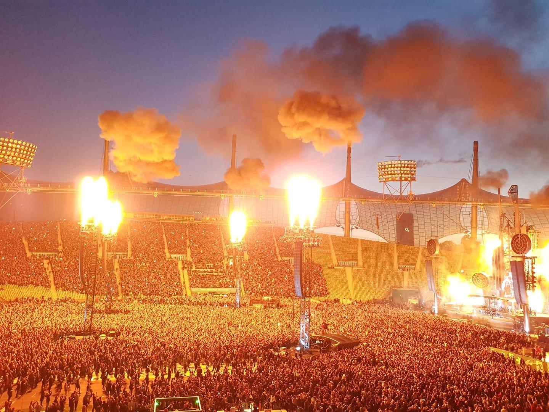 Rammstein Konzert Olympiastadion München